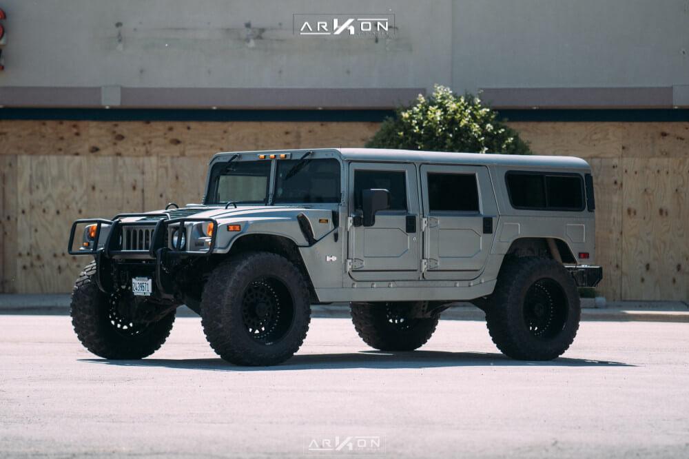Humvee with ARKON wheels
