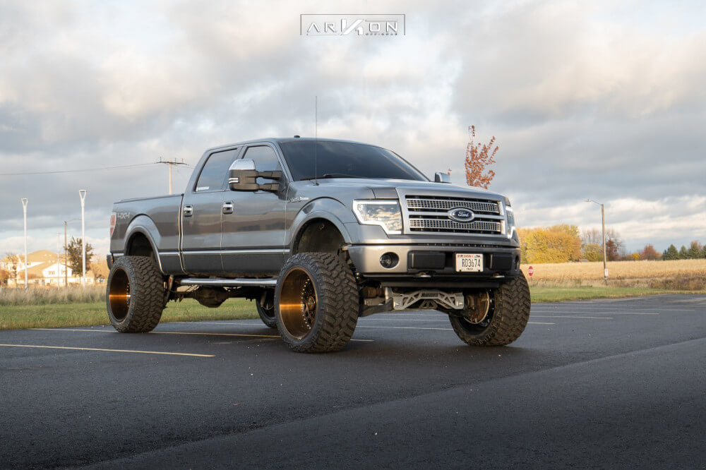 Truck With Spacers